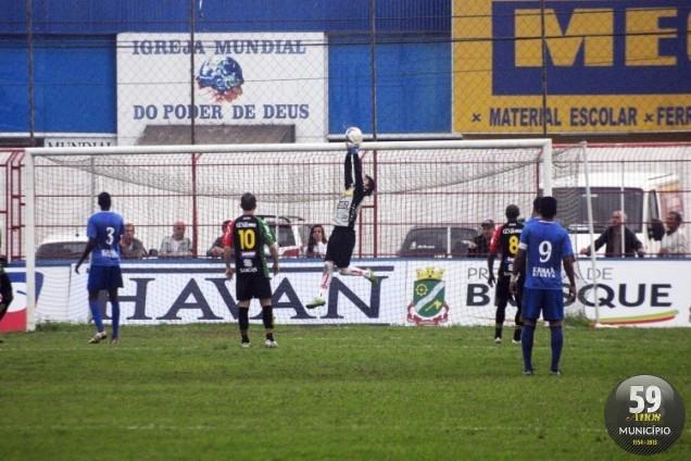 No primeiro turno, Marreco levou a melhor e venceu adversário por 2 a 0