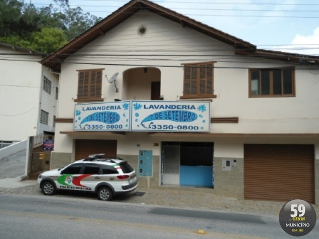 Lavanderia Sete de Setembro, no bairro Santa Rita é assaltada
