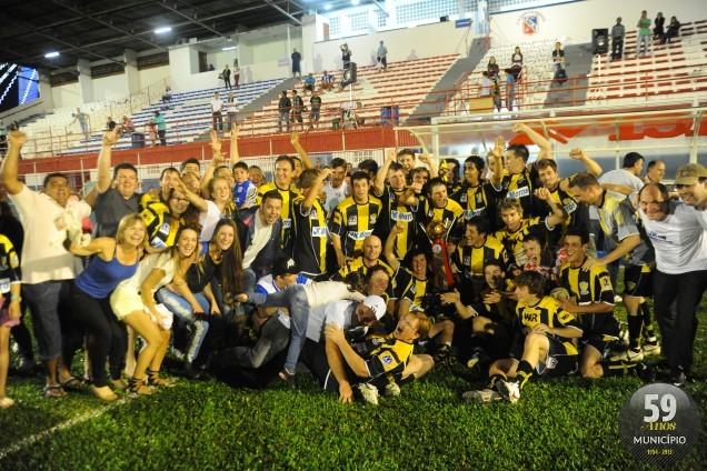 Foi o primeiro título conquistado pela equipe do bairro Águas Claras