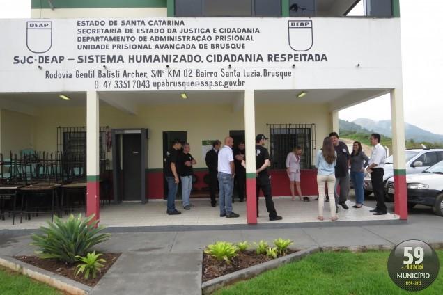 Detentos permanecem na unidade durante período de festas de fim de ano