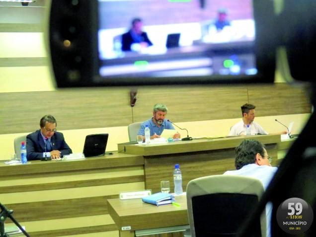 No estudo do OSBr, os vereadores foram avaliados de acordo com o número de proposições