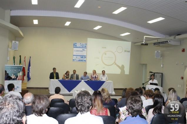Evento de formação da Unifebe, no segundo semestre de 2013