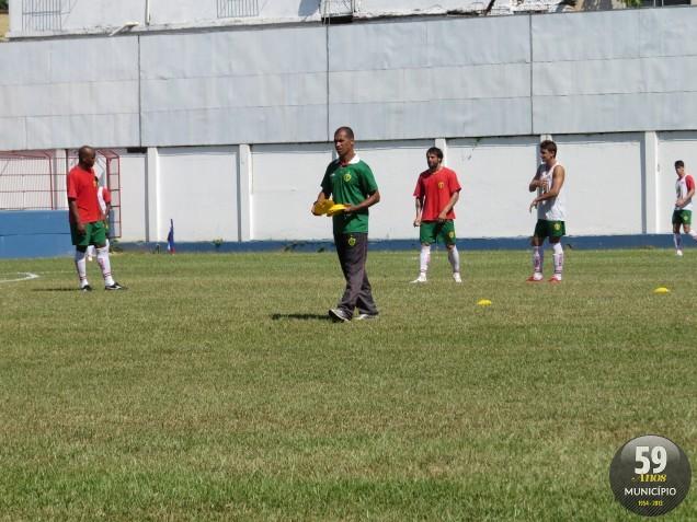 Bruscão treinou no Augusto Bauer nesta sexta-feira (7)