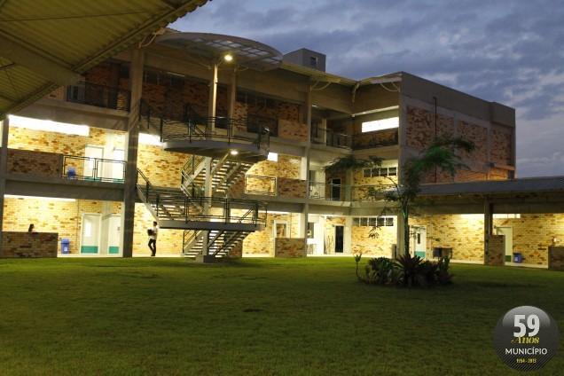 Com a ampliação, o bloco D ganhou  laboratórios de química, física, eletricidade e estúdio fotográfico, sala de dança e lutas esportivas