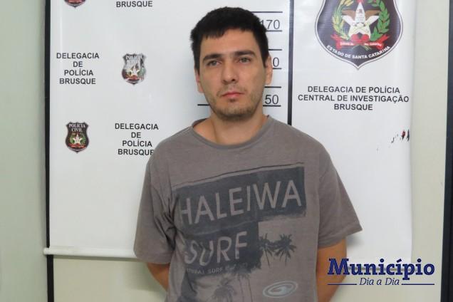 Marcos Alexandre de Lima foi preso em casa, no bairro Rio Branco