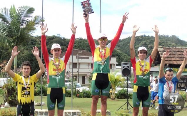 Competição valia pontos para o ranking catarinense de cicliscmo