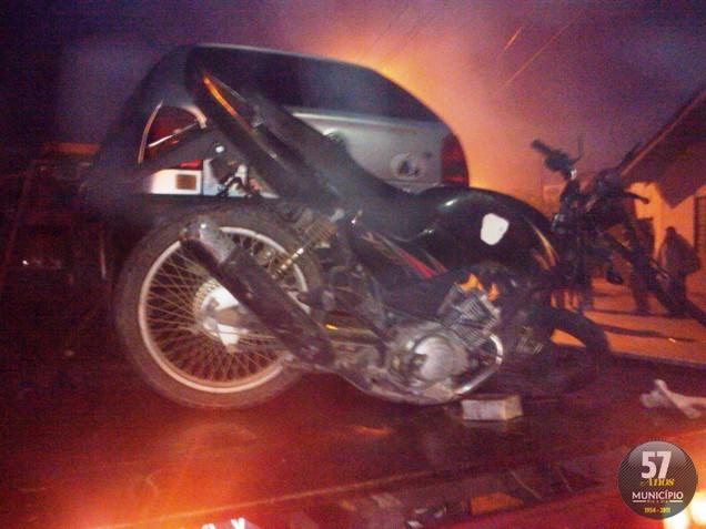 Acidente grave tira a vida de motociclista no bairro Águas Claras